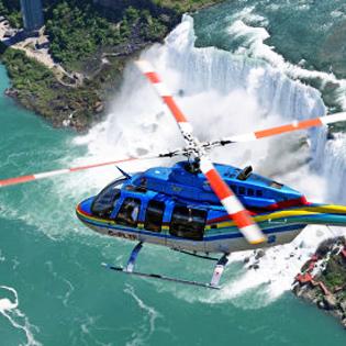 niagara falls helicopter ride